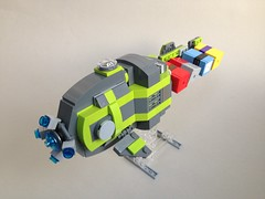 Medium Container Transport (TenorPenny) Tags: lego microspace microscale