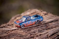 Hot Rod LUV (Groves Pictures) Tags: chevy luv chevrolet picoftheday hotwheels toy car truck vintage retro macro photography pentax kx sedalia missouri ocf