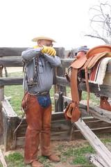 COWBOY PHOTO SHOOT (AZ CHAPS) Tags: ranch arizona spurs cowboy boots rope gloves chaps saddle corral bridle wrangler spadebit