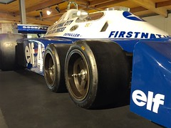 (Telstar Logistics) Tags: car museum f1 elf formula1 1976 6wheeler canepa tyrrellp34