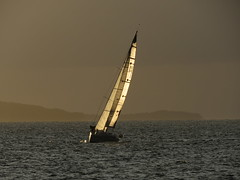 Sailing cross the see (IMG_0559) (akedanerek) Tags: sunset see sailing reflextion