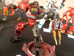Paint'hivres Brick 2015: Warscar (Toxic Geek) Tags: france factory lego exhibit hero bionicle mecha moc exoforce ccbs mixels bionifigs
