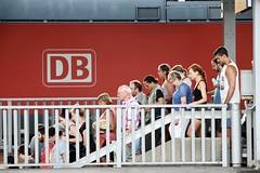 way down (micagoto) Tags: station platform bahnhof db bahn