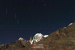 Pointing the North Star (Iqbal.Khatri) Tags: mountains star north trails peak valley hunza sar ladyfinger ultar iqbal khatri