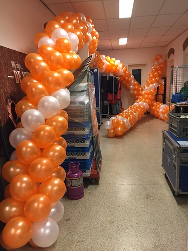 Ballonslinger Bos Theaterproducties Amsterdam
