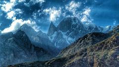 Ladyfinger Peak, Hunza Valley (Emaad Paracha) Tags: pakistan mountains beautiful serene areas northern hunza hdr ladyfinger