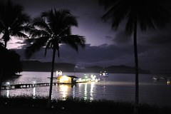 Lightning strikes in Panama (Yenbay) Tags: summer nature weather outdoors lightning panama darien tropics orage tropicalstorm contrejour naturelovers centroamerica mtorologie tonnerre clair tropicstarlodge pinasbay bahiapina