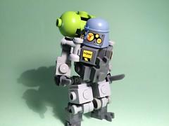 Exo-Suit Zero/01 (Triton V-22) Tags: toy toys robot geek lego mecha mech