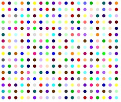 Clonazolam (Robert Hirst - Official) Tags: street nyc newyorkcity pink blue light red urban orange brown white streetart newyork abstract black color green london art fashion yellow wall museum modern self painting circle stencil paint artist gallery arte purple handmade manhattan contemporary spot exhibition polka dot spots dots metropolitan polkadot metropolitanmuseumofart hirst damienhirst royalacademy benzodiazepine spotpainting roberthirst
