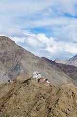 Namgyal Tsemo Gompa (dominikfranzl) Tags: india la monastery tso leh indien himalayas kloster ladakh pangong nubra khardung