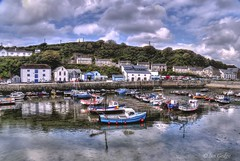 Porthleven Harbour (Ian Gedge) Tags: uk england english water boats coast town cornwall harbour britain kernow porthleven 100commentgroup
