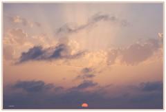 Raggi di sole  ......................... (Schano) Tags: sunset landscape italia tramonto nuvole mare sicilia paesaggio erice raggi trapani raggidisole pizzolungo ilce3000 sonyilce3000 sonyemount55210 sony3000