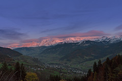 Sunrise in montblanc (anthony.vairos) Tags: autumn france home automne nikon d750 f18 montblanc montain wheater frenchalpes hautesavoie nikkor35mm photoshopcc lightroomcc