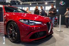 Alfa Romeo Giulia QV (Lucinho Photography) Tags: auto verde canon photography eos moto alfa romeo alfaromeo giulia padova epoca qv 2015 lucinho 18135mm 60d quadrifolio efs18135mmis