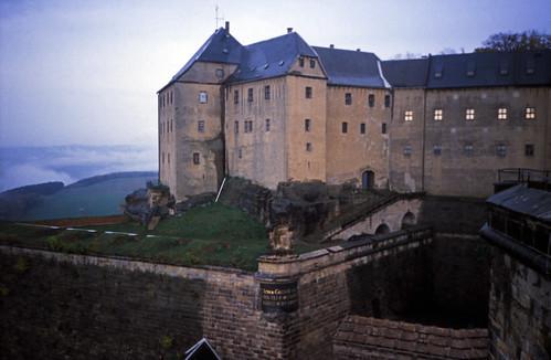 """Elbsandsteingebirge (185) Festung Königstein Georgenburg • <a style=""""font-size:0.8em;"""" href=""""http://www.flickr.com/photos/69570948@N04/22621540461/"""" target=""""_blank"""">View on Flickr</a>"""