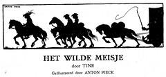 Het wilde Meisje j 30 ill  Anton Pieck a (janwillemsen) Tags: bookillustration antonpieck 1930ies