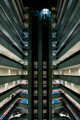 Dragoncon 2015 - 9 - Ascent (florencechan.ca) Tags: atlanta architecture georgia hotel atrium dragoncon marriottmarquis dragoncon2015