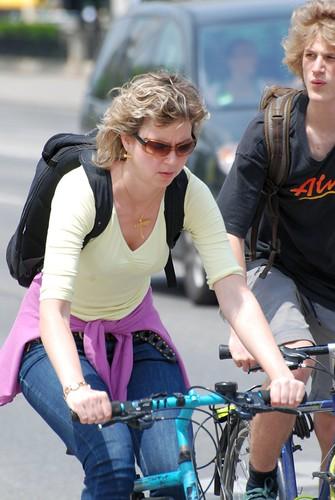 On bike ©  Andrey