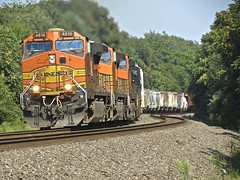 Norfolk Southern Chicago Line (codeeightythree) Tags: ns bnsf westbound norfolksouthern graintrain norfolksouthernrailroad newcarlisleindiana norfolksouthernchicagoline