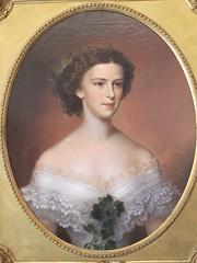 Portrait d'Elisabeth d'Autriche (1855) ou Sissi, Amanda Bergstedt - Muse Correr, Venise (Yvette Gauthier) Tags: portrait muse venise venezia italie sissi impratrice appartements musecorrer lisabethdautriche