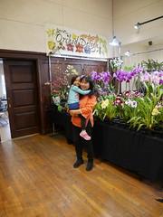 Angelic Nguyen and young friend (cieneguitan) Tags: flora lan bunga orkid flowershow okid angrek anggerek