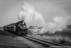 Strasburg Railroad (Mellon 99) Tags: railroad blackandwhite bw train pennsylvania tracks trains steam lancaster lancastercounty mellon99photography davemellon
