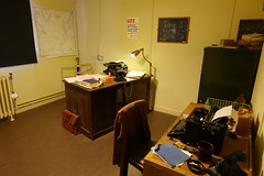 """""""Turing's Office"""" (mlcastle) Tags: uk england office alanturing turing bletchleypark bletchley hut8 foursquare:venue=4ae33adcf964a520029221e3"""
