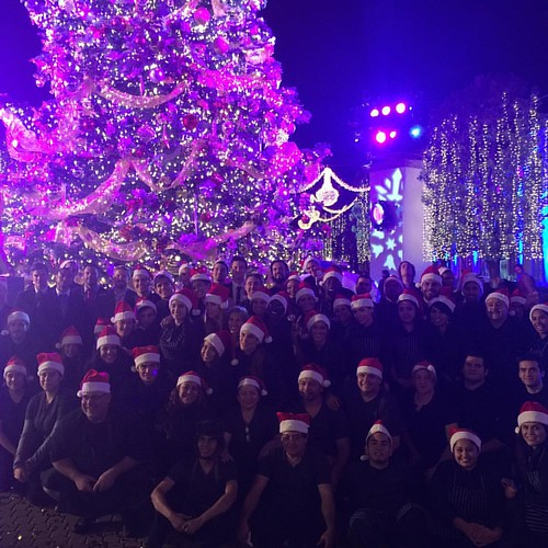 The tree lighting @paramountpics tonight was incredible! Such an incredible team tonight & yummy food w/ @thefoodmatters! #holidays #treelighting #staffing #events #eventfam #eventlife #girlboss #werk #paramountspecialevents #TheFoodMatters #200ProofLA #2