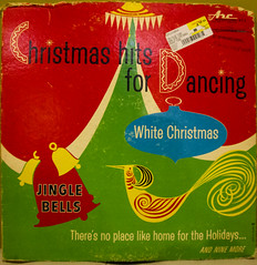 Christmas Hits for Dancing (rumimume) Tags: christmas music holiday ontario canada art canon vintage photo still song album sigma niagara memory record audio 33rpm picoftheday 2015 550d t2i rumimume