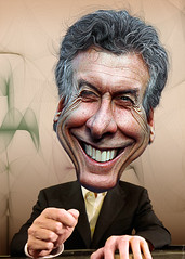 Mauricio Macri - Caricature (DonkeyHotey) Tags: art argentina face photomanipulation photoshop photo buenosaires mayor political politics cartoon manipulation caricature politician campaign karikatur caricatura commentary bocajuniors politicalart mauriciomacri karikatuur politicalcommentary donkeyhotey franciscomacri firstballotage