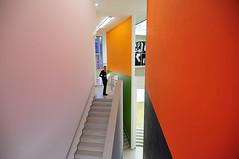 the year is coming to an end (claude05) Tags: frankfurt staircase mmk museumfrmodernekunst gnterfrgwandmalerei