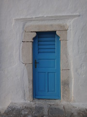 Puerta. Chora. Isla de Mikonos. Grecia (escandio) Tags: grecia chora mikonos 2015 cicladas islademikonos