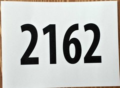 Race bag number - Run the Lake 2015 (illrunningGR) Tags: greece races 10km vouliagmeni didntgo racebagnumbers