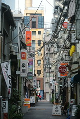 tokyo6026 (tanayan) Tags: urban town cityscape tokyo japan nikon j1 road street alley   shinbashi