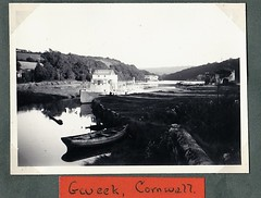 Gweek Cornwall 1955 (Bury Gardener) Tags: bw blackandwhite oldies 1950s snaps gweek cornwall 1955 england uk