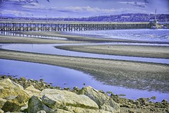 Tide's Turning (robinlamb1) Tags: landscape oceanscape ocean sea whiterock bc pier outdoor sand water rocks