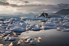 Icebergs at Jkulsrln (Jordan Schwarz Photography) Tags: island sea lava volcano sun sonne cold kalt water wasser white august winter snow schnee robben