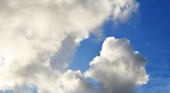 Fluffy weekend - Day 77 (wiedenmann.markus) Tags: cloud sky blue white fluffy weather holland weekend nikon nikon610