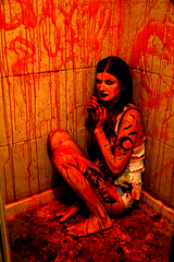 Way out (radargeek) Tags: oklahoma luther ok blood gore horror tattoo charity piercing
