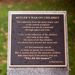 Hitler's war on children (marcn) Tags: nh nashua newhampshire unitedstates us holocaustmemorial