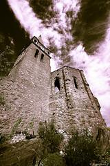 Le chteau de Capendu-002 (bonacherajf) Tags: aude capendu chateau ruine clocher