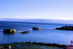 Seascape at the end of the day (pedrosimoes7) Tags: seascape blue azul bleu monteestoril portugal