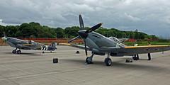 TE311 & MK356 SUPERMARINE SPITFIRE (toowoomba surfer) Tags: warbird wwii aviation aircraft aeroplane