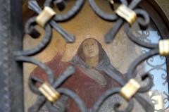 buona festa della Madonna della Salute (Alberto Cameroni) Tags: venezia edicola madonnadellasalute volto dipinto leica leicaxtyp113
