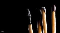 Four of a kind (happad fotografie) Tags: lowkey black flash zwart match matches zwarrt