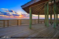 Bathtub Reef Beach Sunrise Gazebo (Captain Kimo) Tags: aurorahdr2017 bathtubreefbeach captainkimo florida hdrphotography hutchinsonisland martincounty photomatixpro stuart
