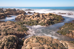 Strange Brew (Harold Wycoff) Tags: ocean sea seascape coast water waves landscape cambria centralcoast highway1 pacificcoasthwy pacific pacificcoast sand rocks tide currents