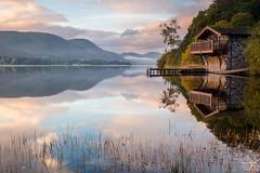Duke of Portland Dawn (tristantinn) Tags: ullswater lakedistrict cumbria duke portland boathouse reflection calm morning lake autumn uk england