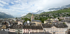 Sion, Switzerland (nicnac1000) Tags: switzerland valais sion panorama