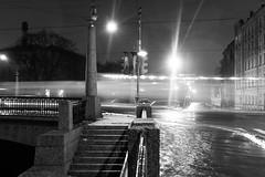 The ghostly trace -   (Valery Parshin) Tags: russia saintpetersburg stpetersburg night valeryparshin vasilyevskyisland ingermanland canoneos600d canonefs24mmf28stm pleinair